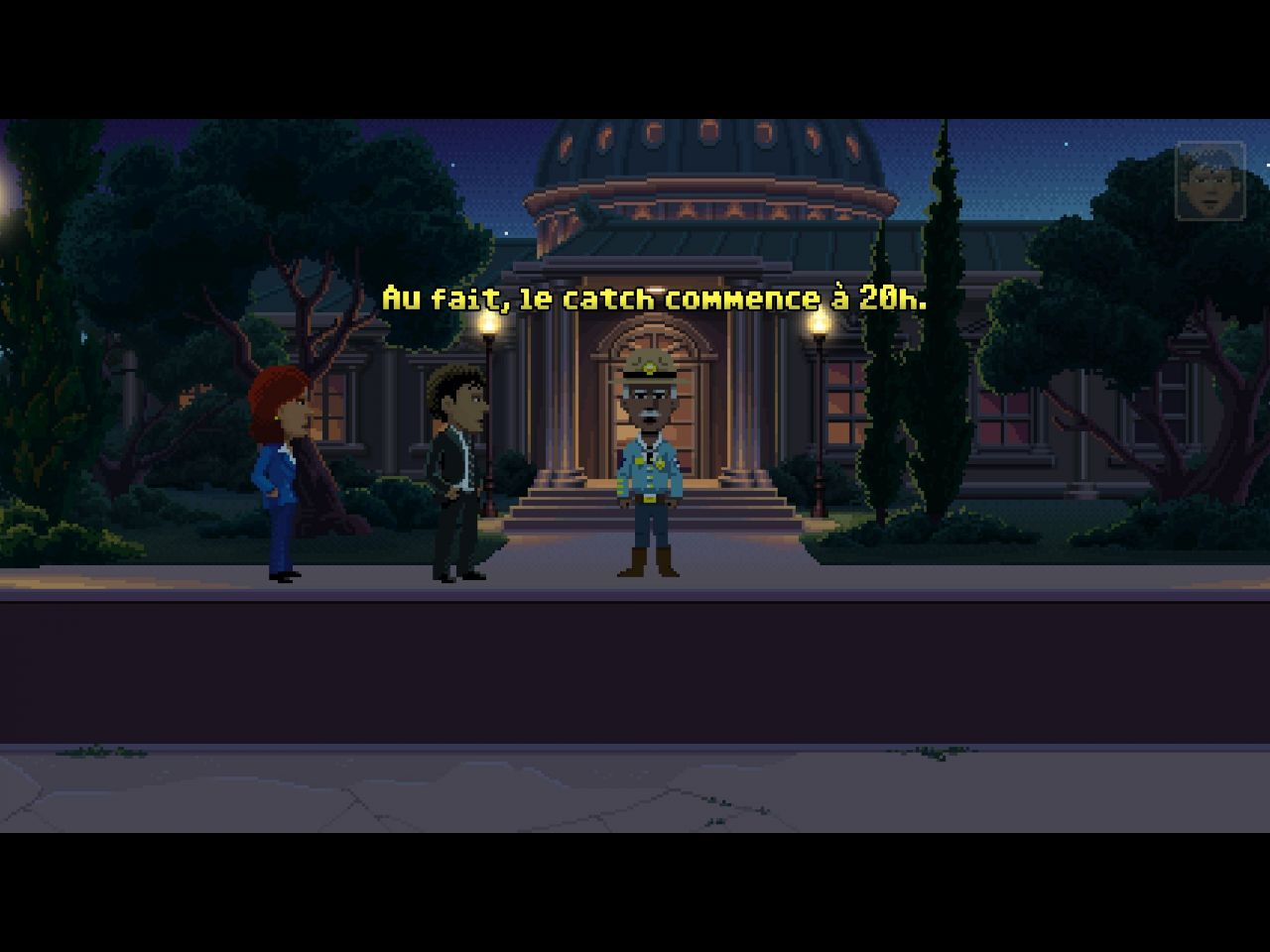 Thimbleweed Park (copie d'écran 7 sur iPhone / iPad)