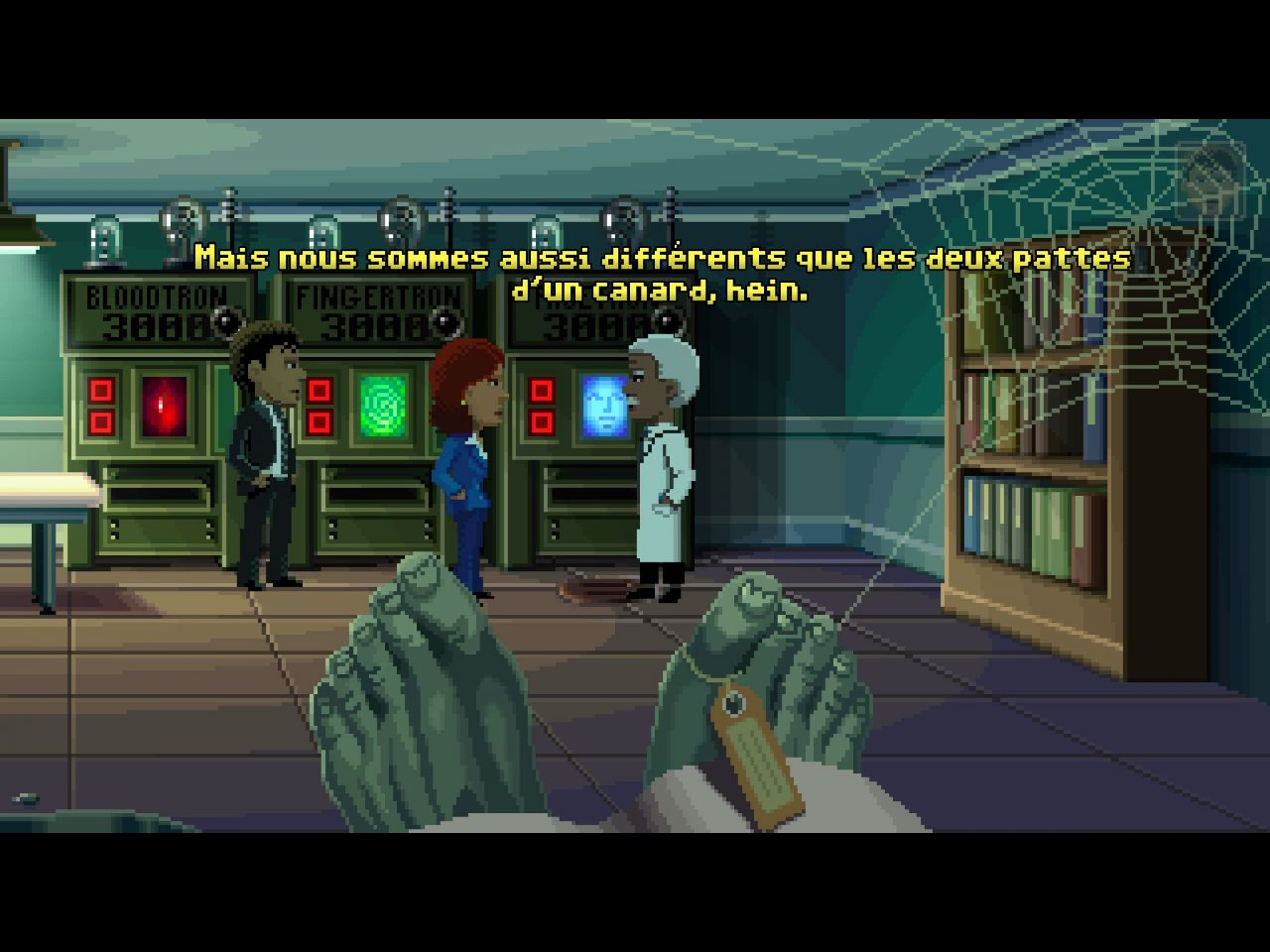 Thimbleweed Park (copie d'écran 9 sur iPhone / iPad)