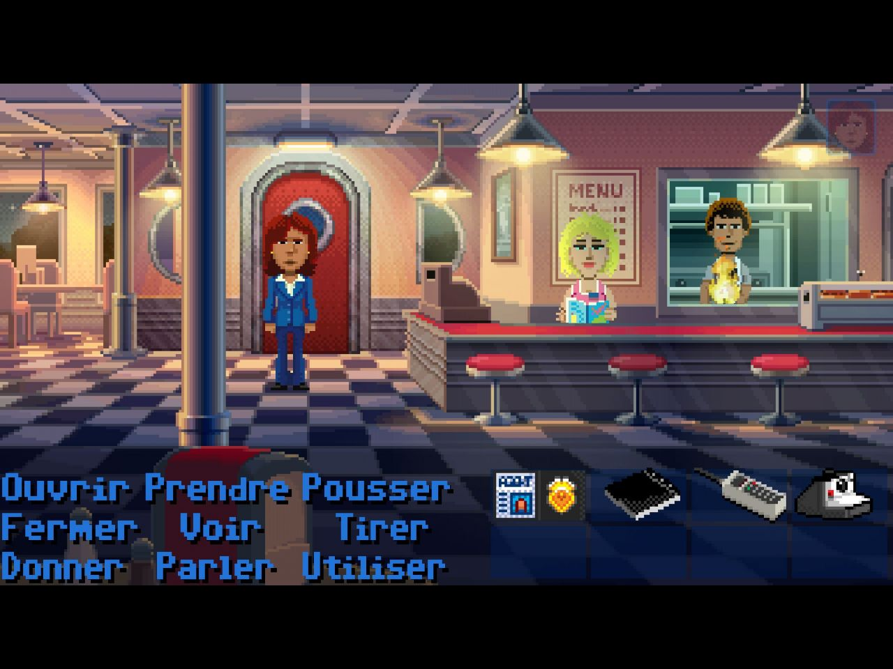 Thimbleweed Park (copie d'écran 11 sur iPhone / iPad)