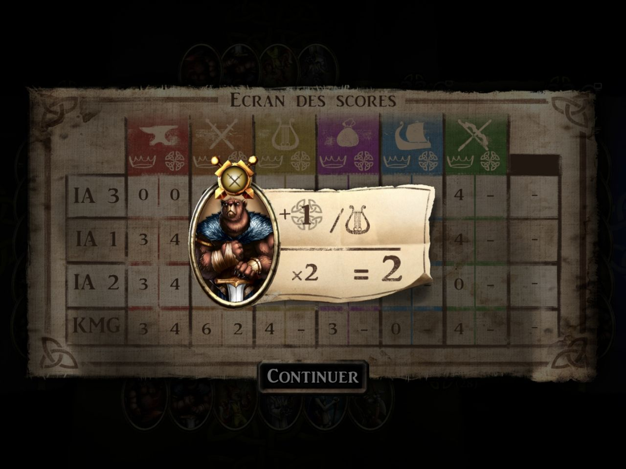 Harald: un jeu d'influence (copie d'écran 11 sur iPhone / iPad)