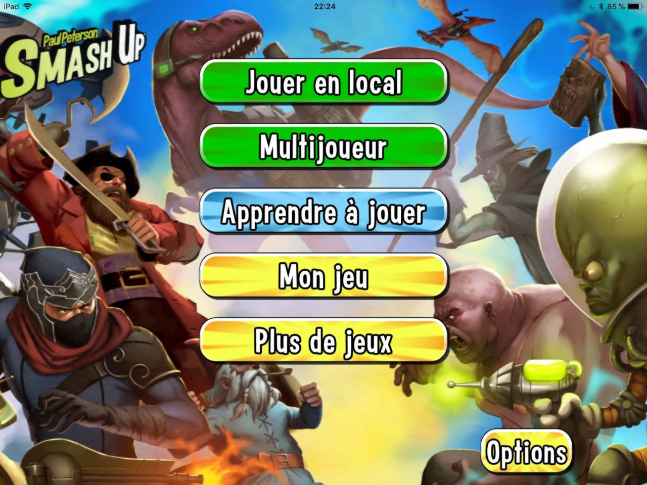 Smash Up - Le jeu de cartes (copie d'écran 2 sur iPhone / iPad)