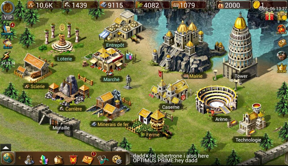test de jeu android age of empire sur. Black Bedroom Furniture Sets. Home Design Ideas