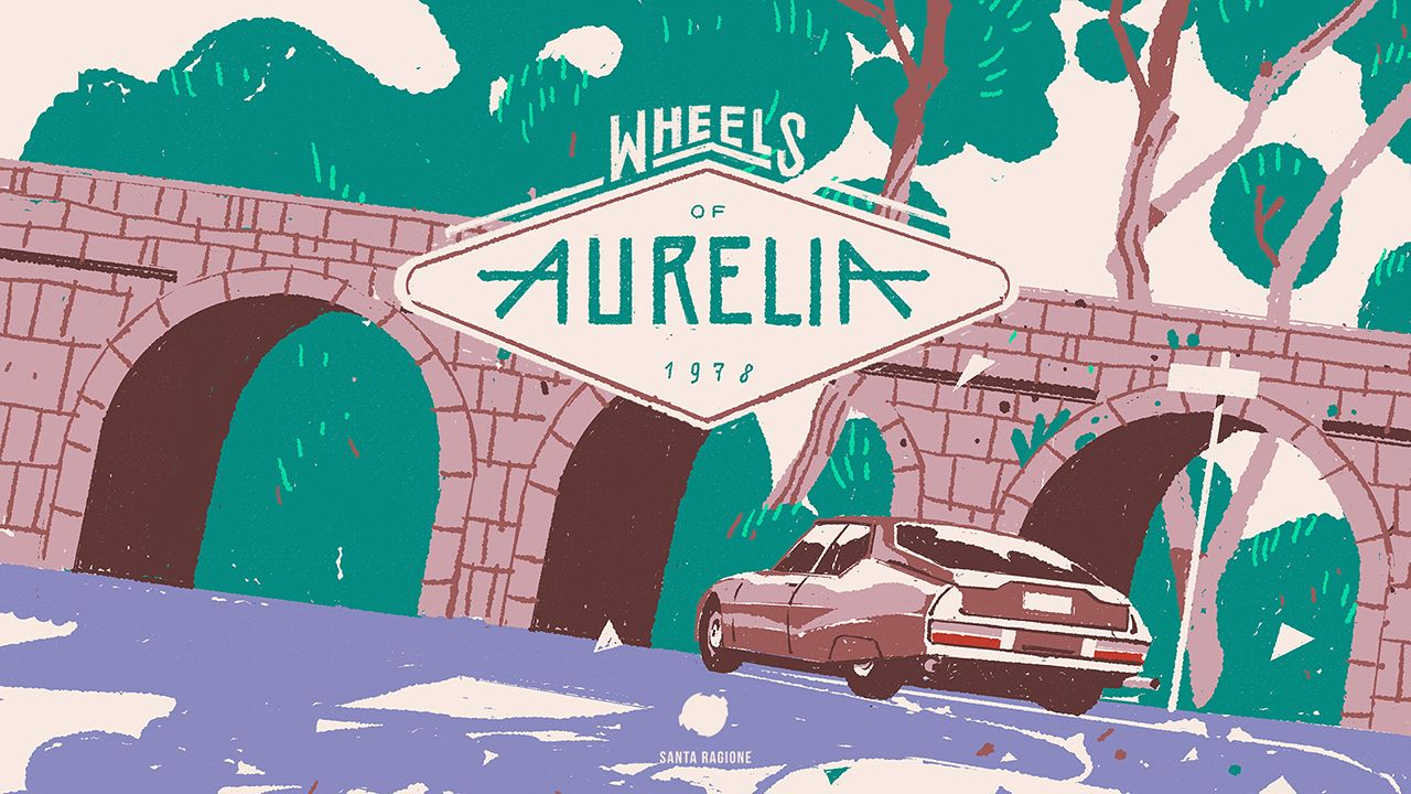 Wheels of Aurelia de Santa Ragione