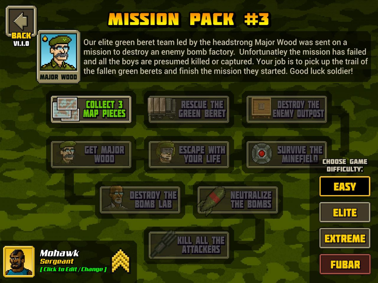 KickAss Commandos (copie d'écran 5 sur Android)