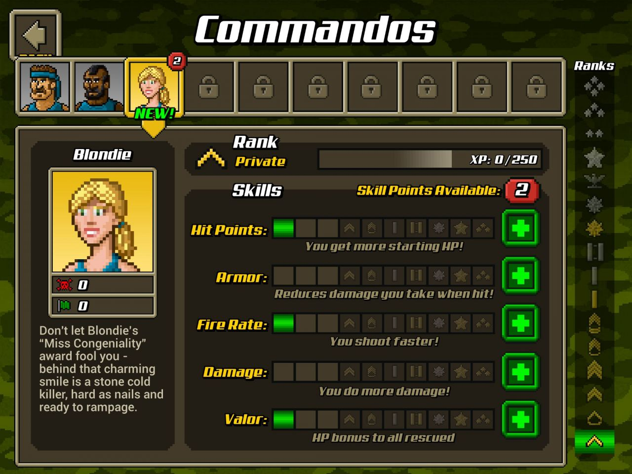 KickAss Commandos (copie d'écran 16 sur Android)