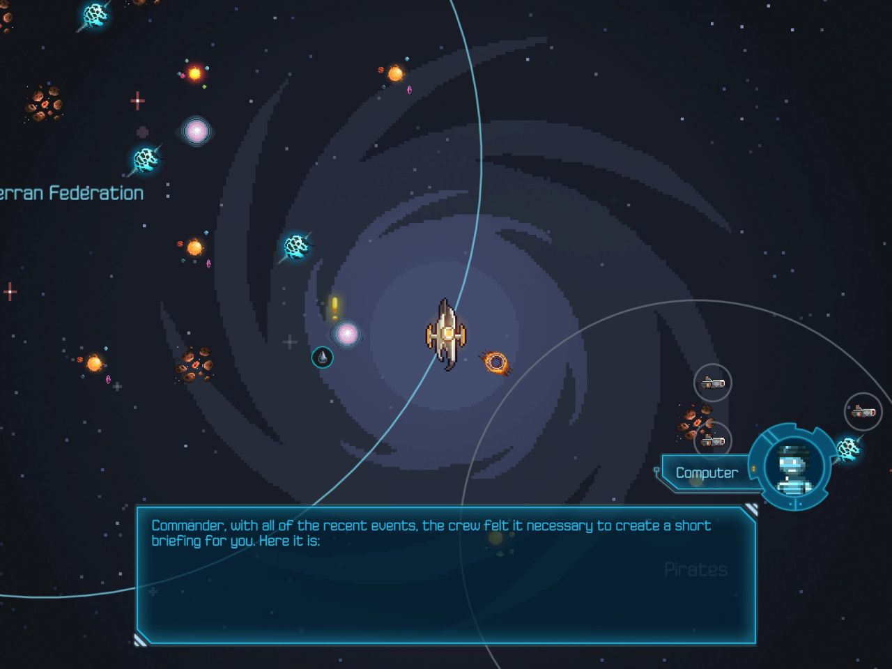 Halcyon 6: Starbase Commander (copie d'écran 3 sur iPhone / iPad)