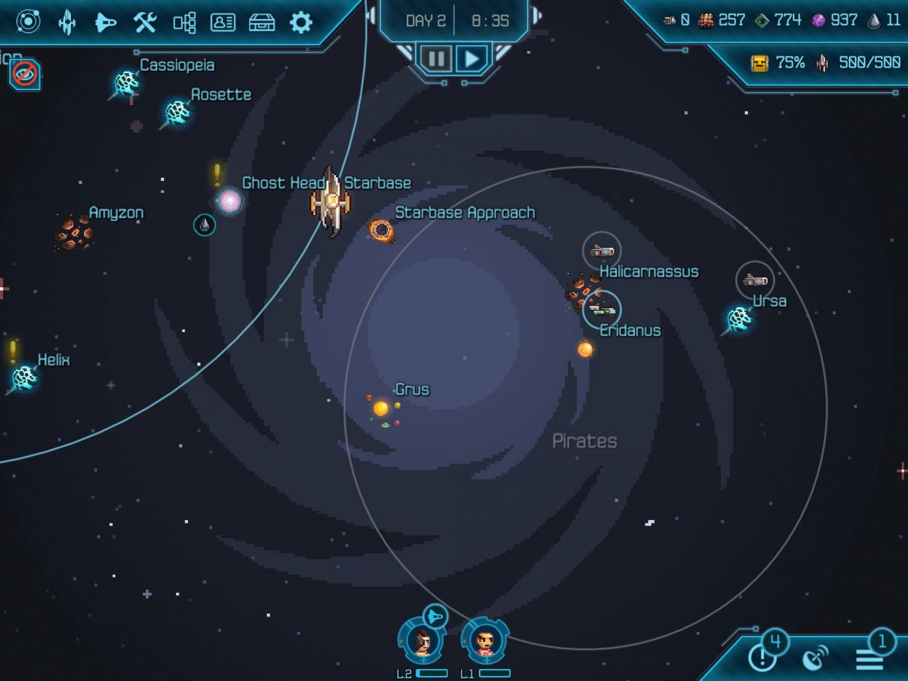 Halcyon 6: Starbase Commander (copie d'écran 11 sur iPhone / iPad)