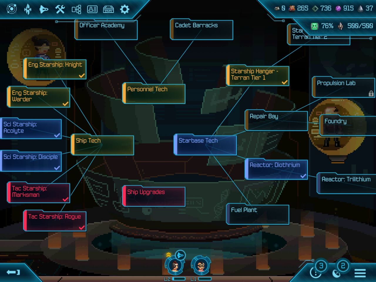Halcyon 6: Starbase Commander (copie d'écran 7 sur iPhone / iPad)