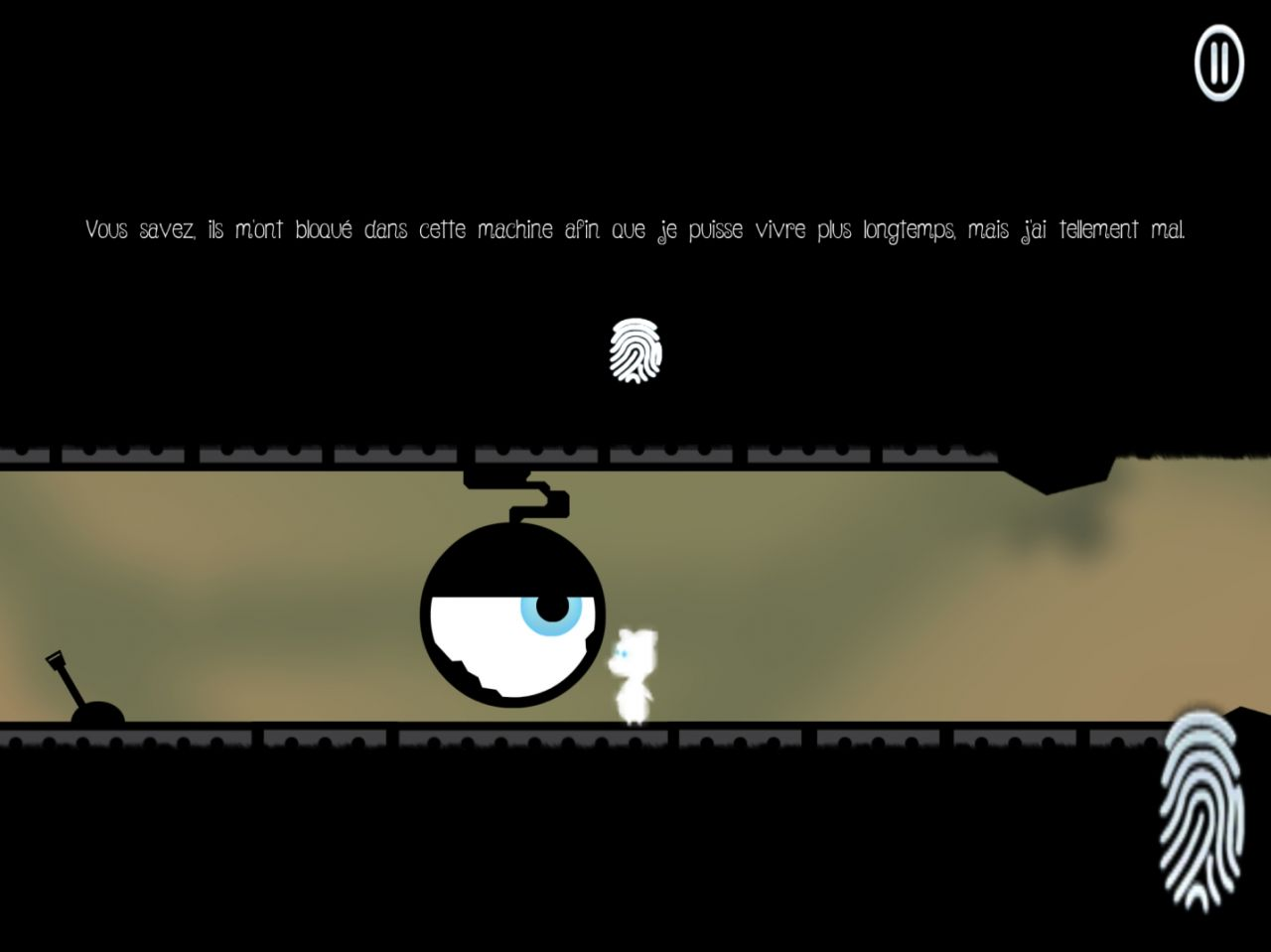 Soulless - Ray of Hope (copie d'écran 1 sur iPhone / iPad)