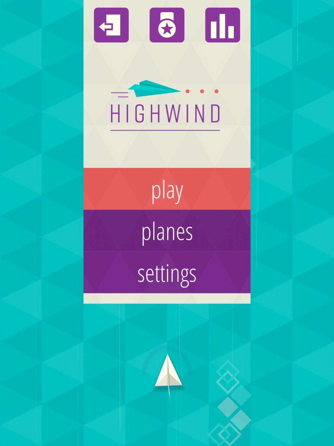 Highwind (copie d'écran 2 sur iPhone / iPad)