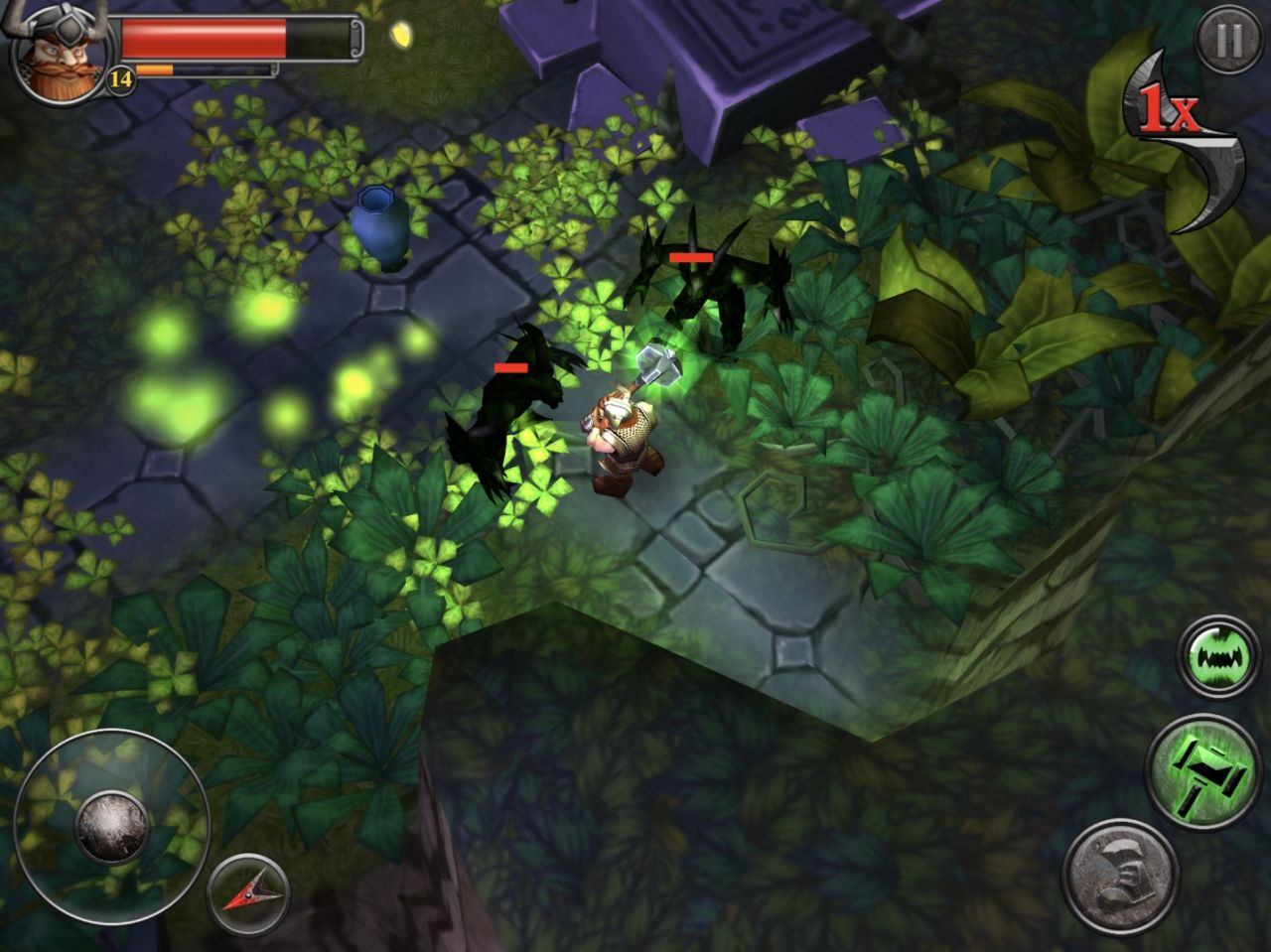Runic Rampage - Hack and Slash RPG (copie d'écran 12 sur Android)