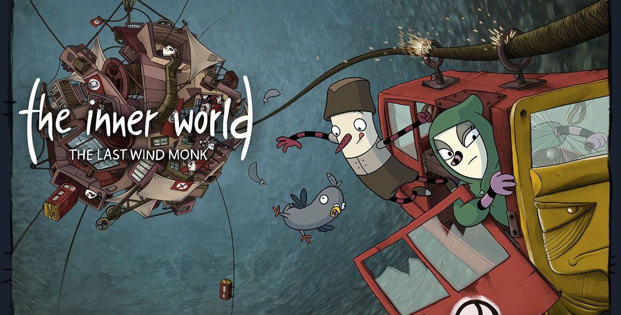 The Inner World - The Last Wind Monk de Studio Fizbin et Headup Games
