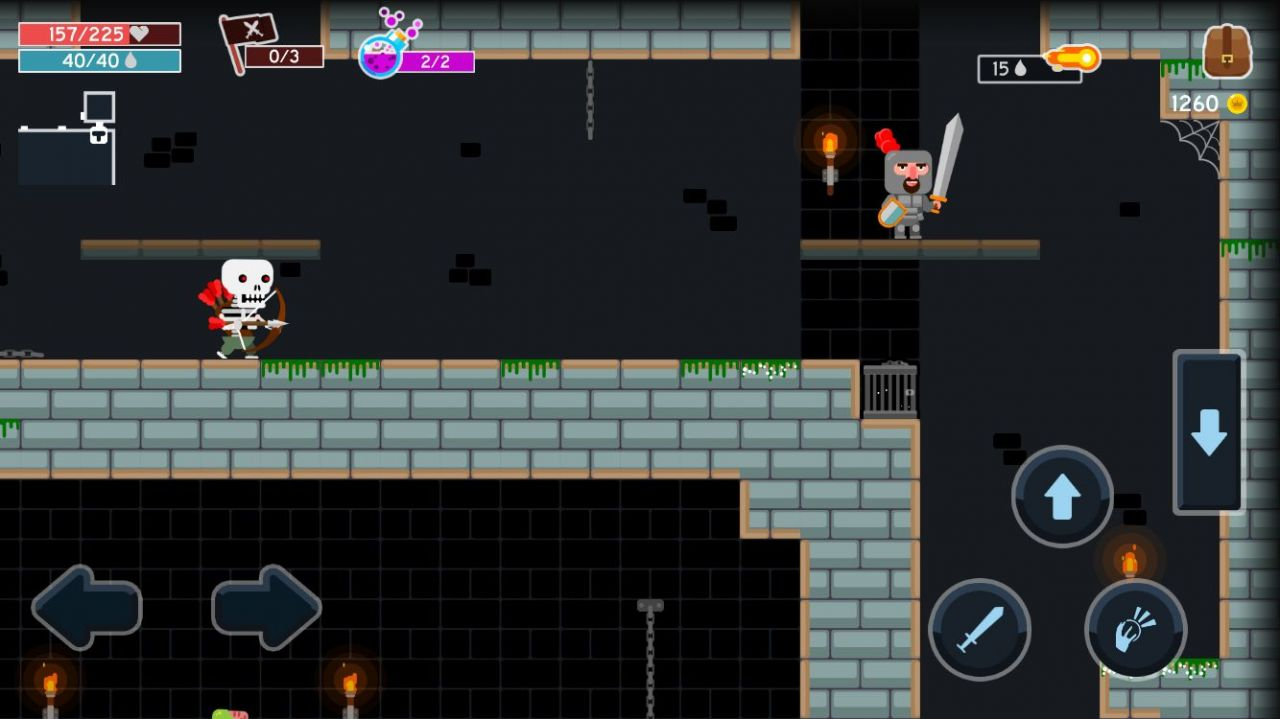 Become a Legend: Dungeon Quest (copie d'écran 7 sur Android)
