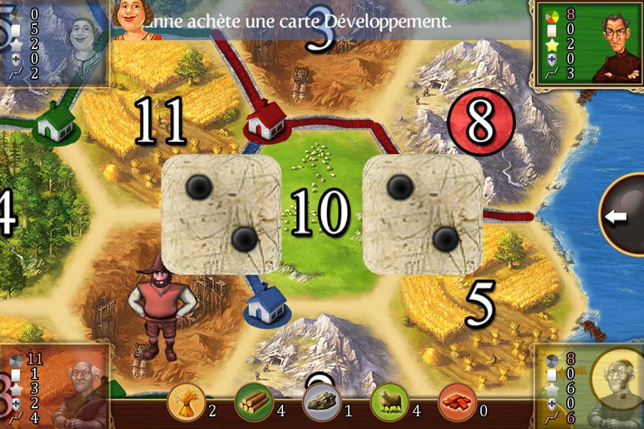 Catan Classic (copie d'écran 1 sur iPhone / iPad)