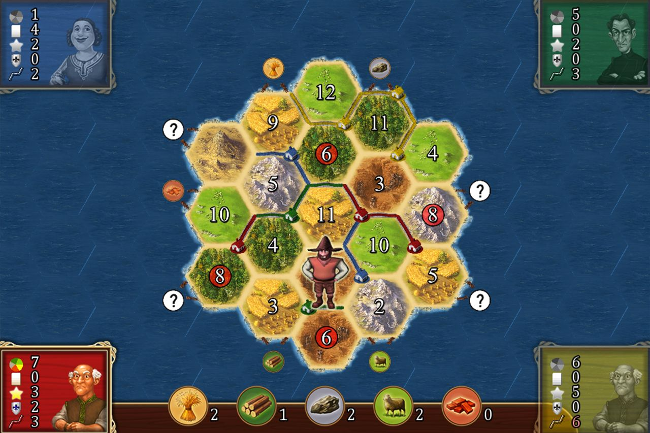 Catan Classic (copie d'écran 3 sur iPhone / iPad)