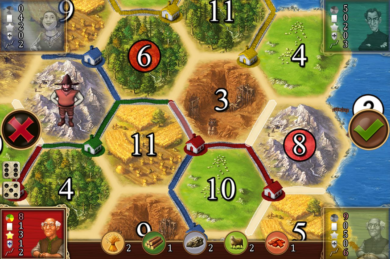 Catan Classic (copie d'écran 7 sur iPhone / iPad)