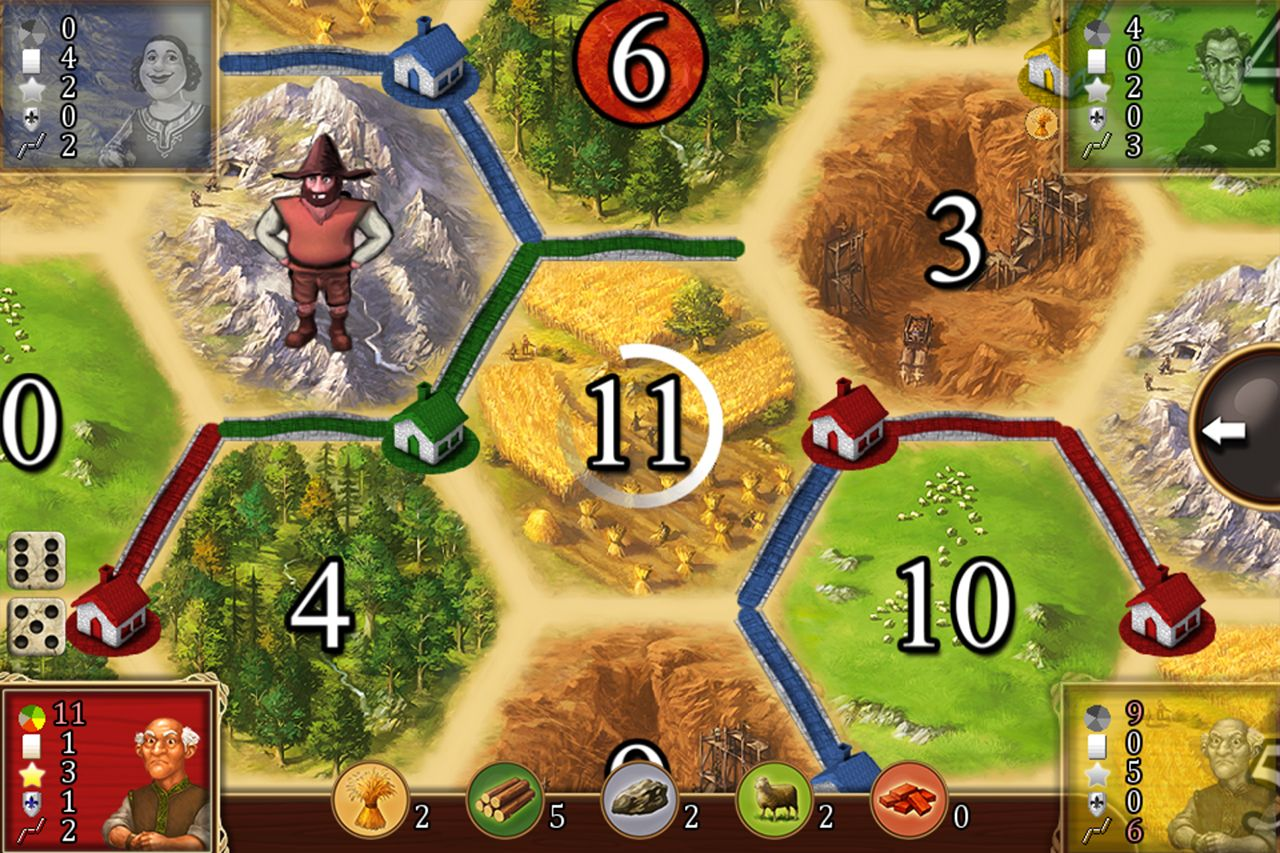 Catan Classic (copie d'écran 8 sur iPhone / iPad)