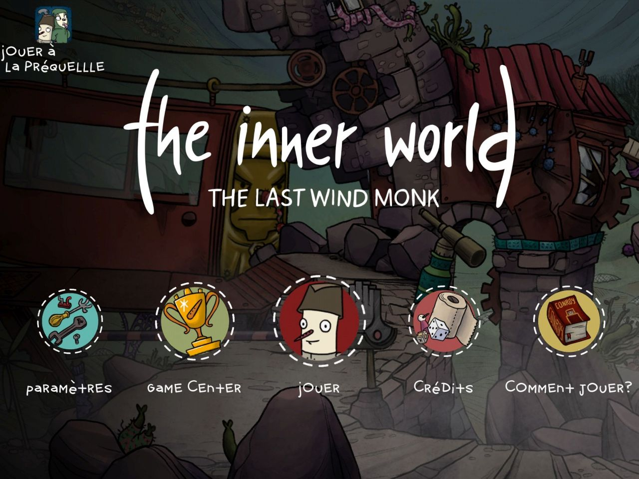 The Inner World 2 (copie d'écran 1 sur iPhone / iPad)