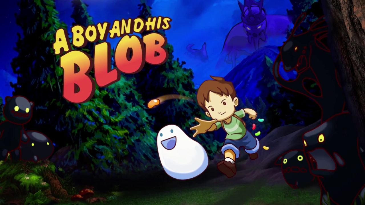 A Boy and His Blob de Majesco Entertainment