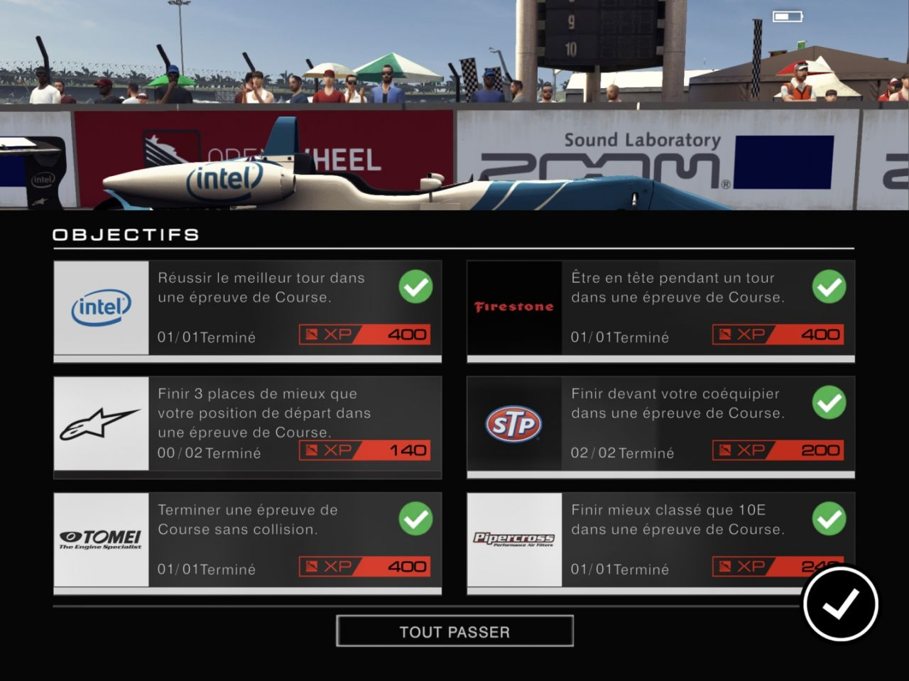 GRID Autosport (copie d'écran 18 sur iPhone / iPad)