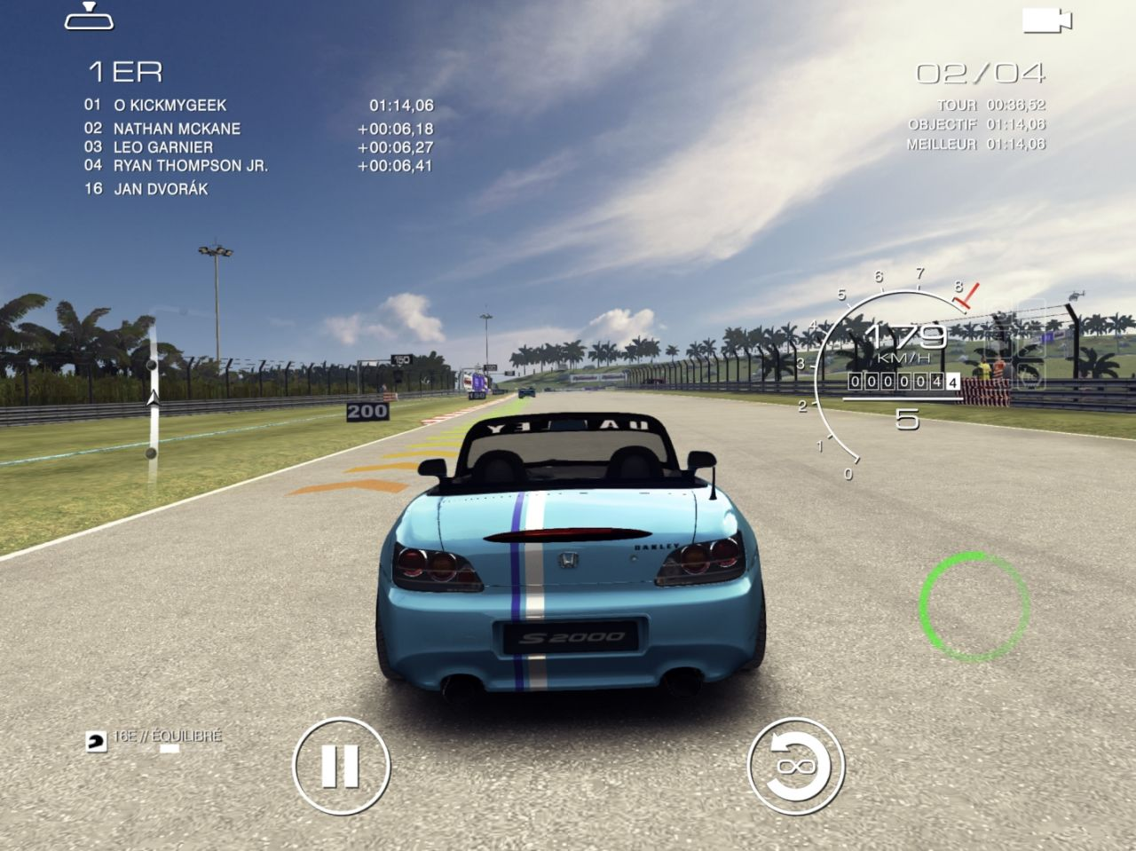 GRID Autosport (copie d'écran 27 sur iPhone / iPad)