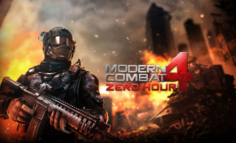 Modern Combat 4: Zero Hour sur iPhone et iPad