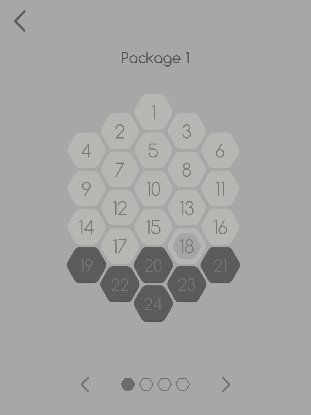 Hexa Turn (copie d'écran 1 sur iPhone / iPad)