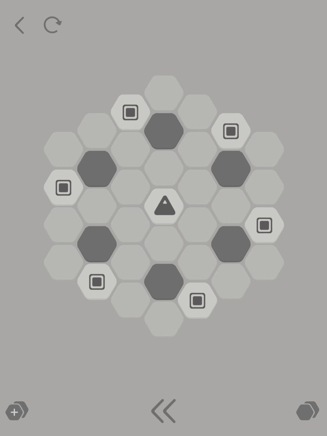 Hexa Turn (copie d'écran 2 sur iPhone / iPad)
