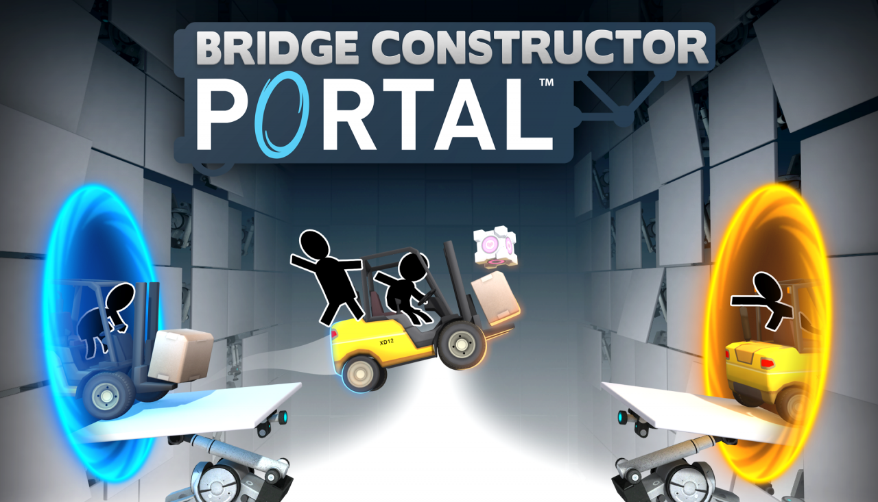 Bridge Constructor Portal de Headup Games et ClockStone Software