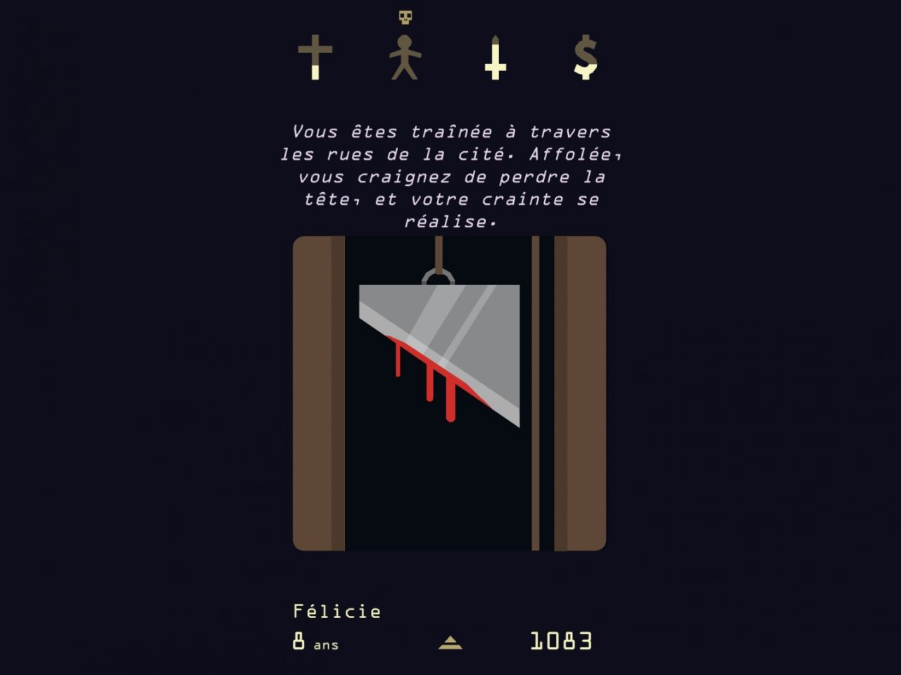Reigns: Her Majesty (copie d'écran 4 sur Android)