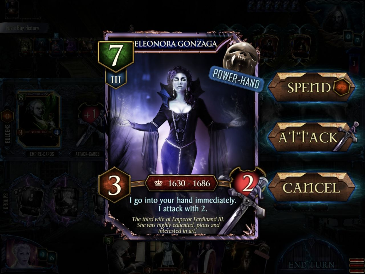 VEmpire-The Kings of Darkness (copie d'écran 15 sur iPhone / iPad)