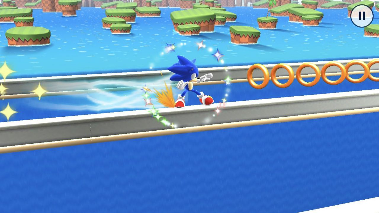 Sonic Runners Adventure (copie d'écran 7 sur iPhone / iPad)