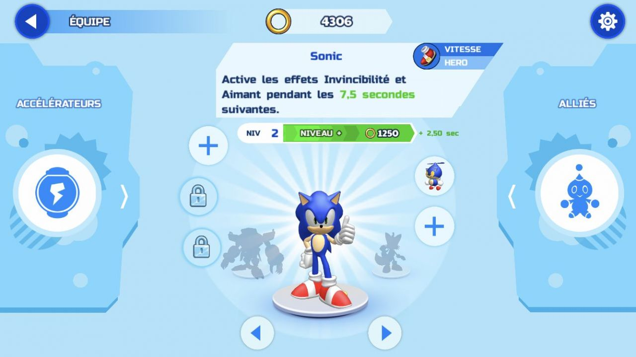 Sonic Runners Adventure (copie d'écran 3 sur iPhone / iPad)