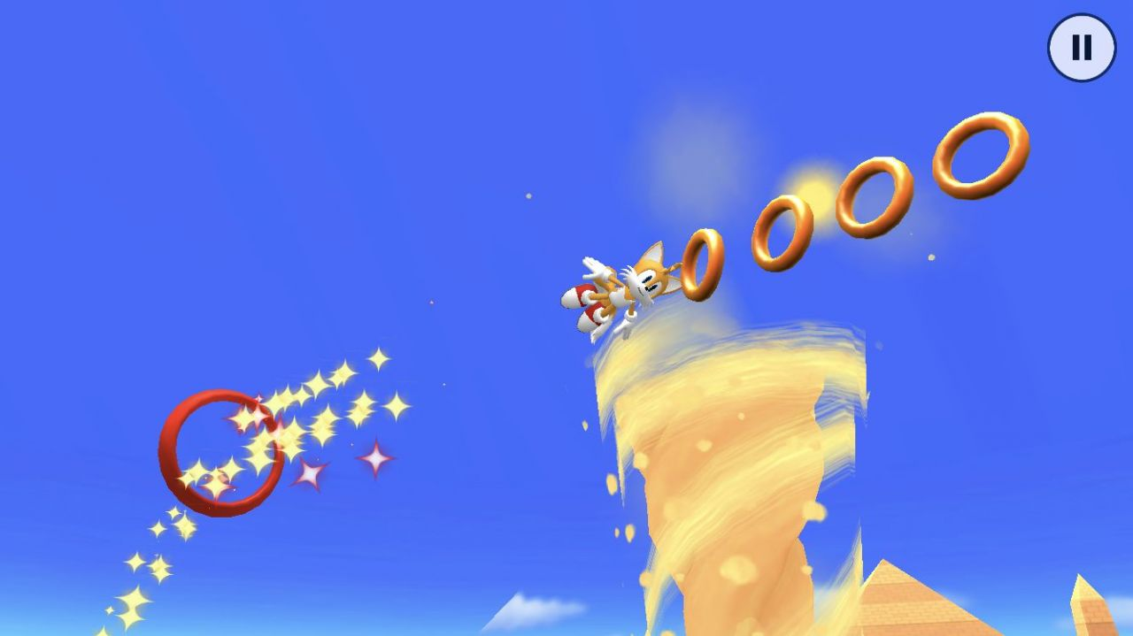 Sonic Runners Adventure (copie d'écran 15 sur iPhone / iPad)