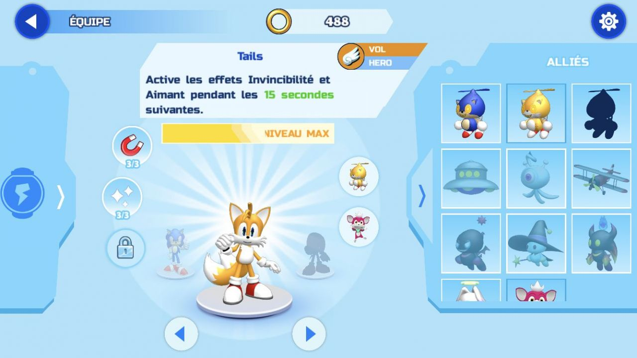 Sonic Runners Adventure (copie d'écran 11 sur iPhone / iPad)