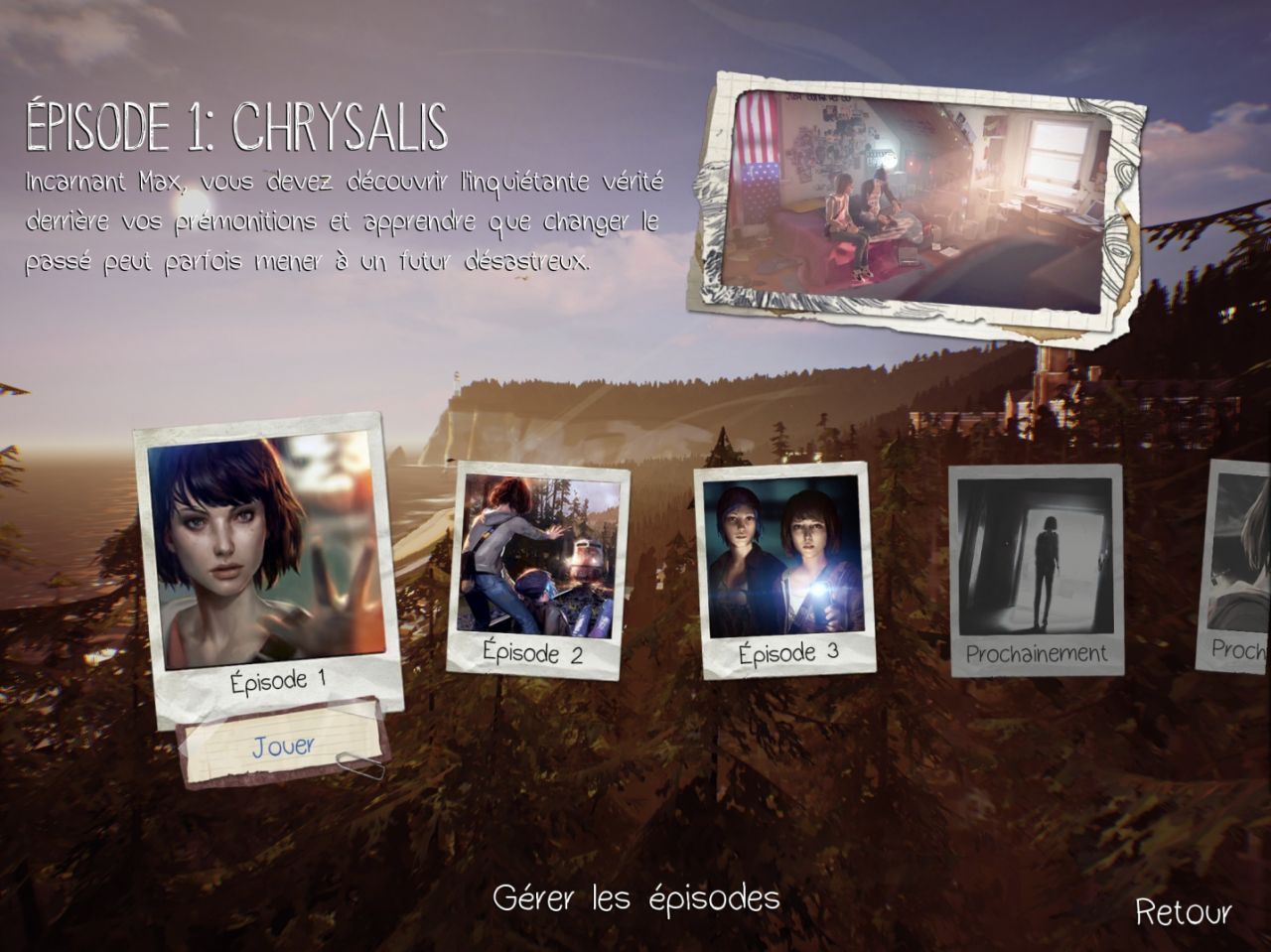 Life Is Strange (Episode 1) (copie d'écran 1 sur iPhone / iPad)