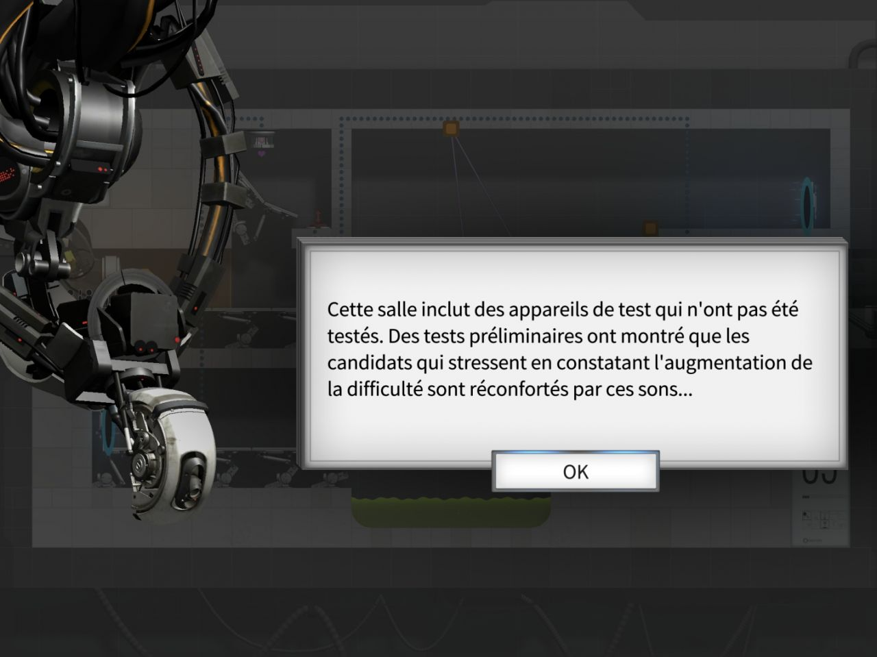 Bridge Constructor Portal (copie d'écran 16 sur iPhone / iPad)