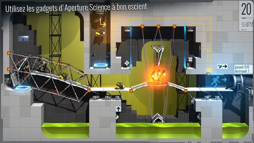 Bridge Constructor Portal de Headup Games