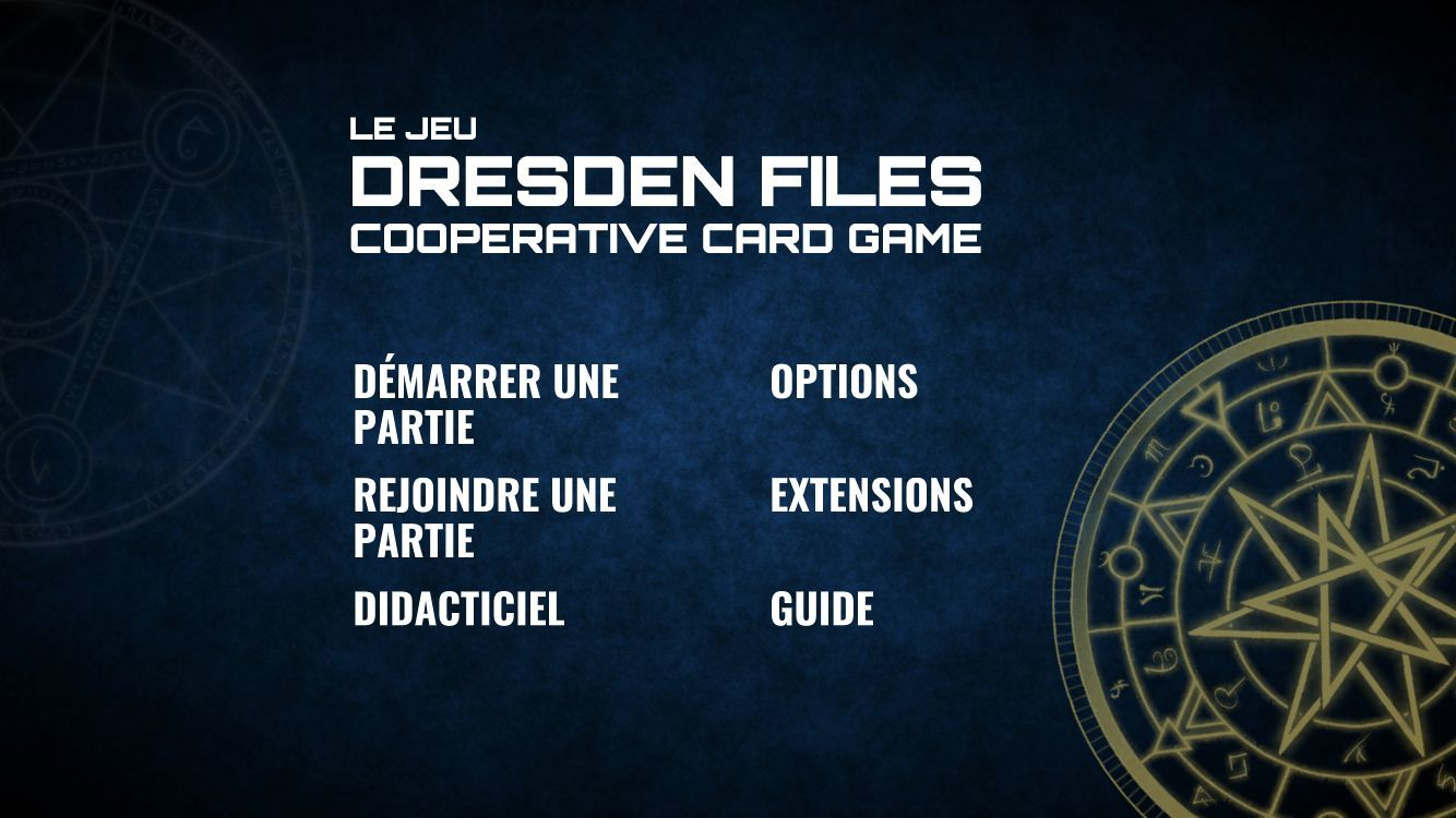 The Dresden Files Cooperative Card Game (copie d'écran 3 sur Android)