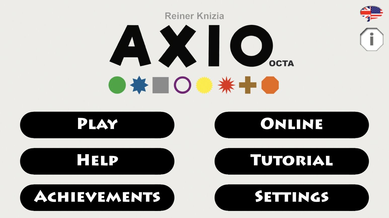 AXIO octa (copie d'écran 1 sur iPhone / iPad)