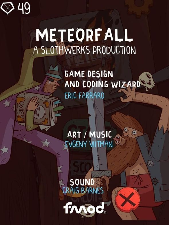 Meteorfall: Journey (copie d'écran 11 sur iPhone / iPad)