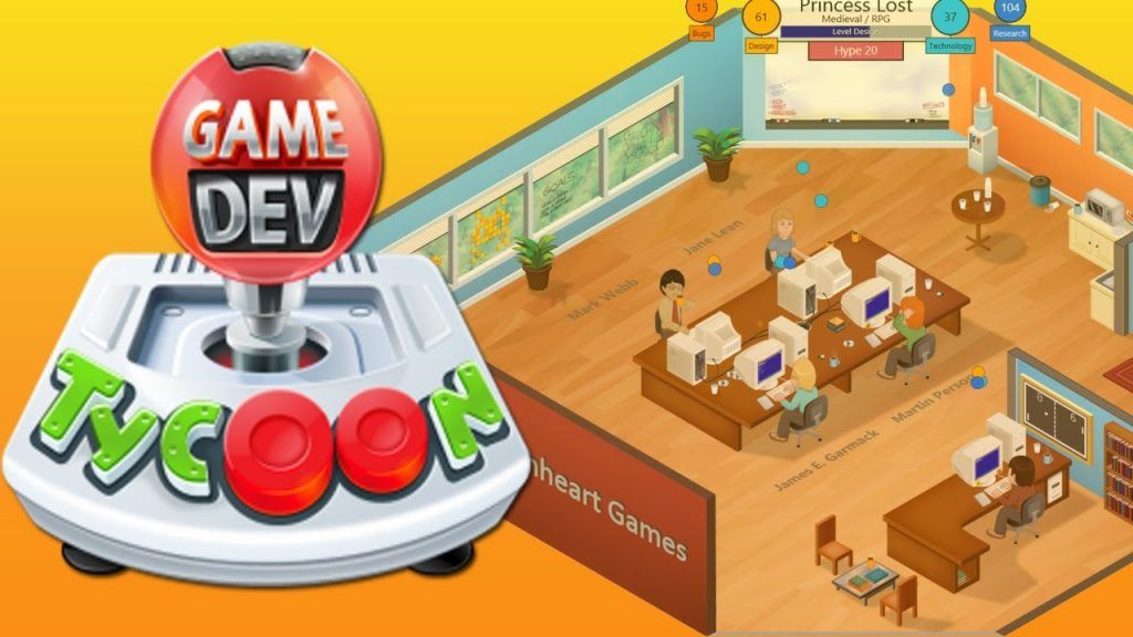 Game Dev Tycoon de Greenheart Games