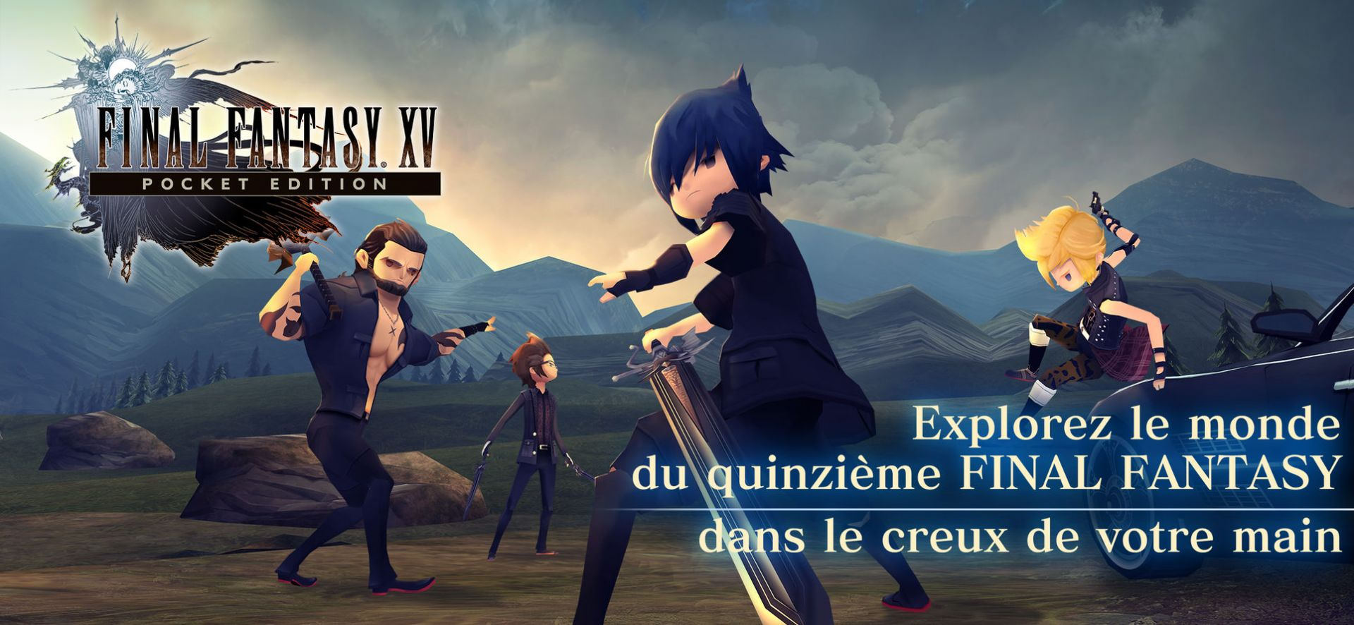 Final Fantasy XV Pocket Edition de Square Enix
