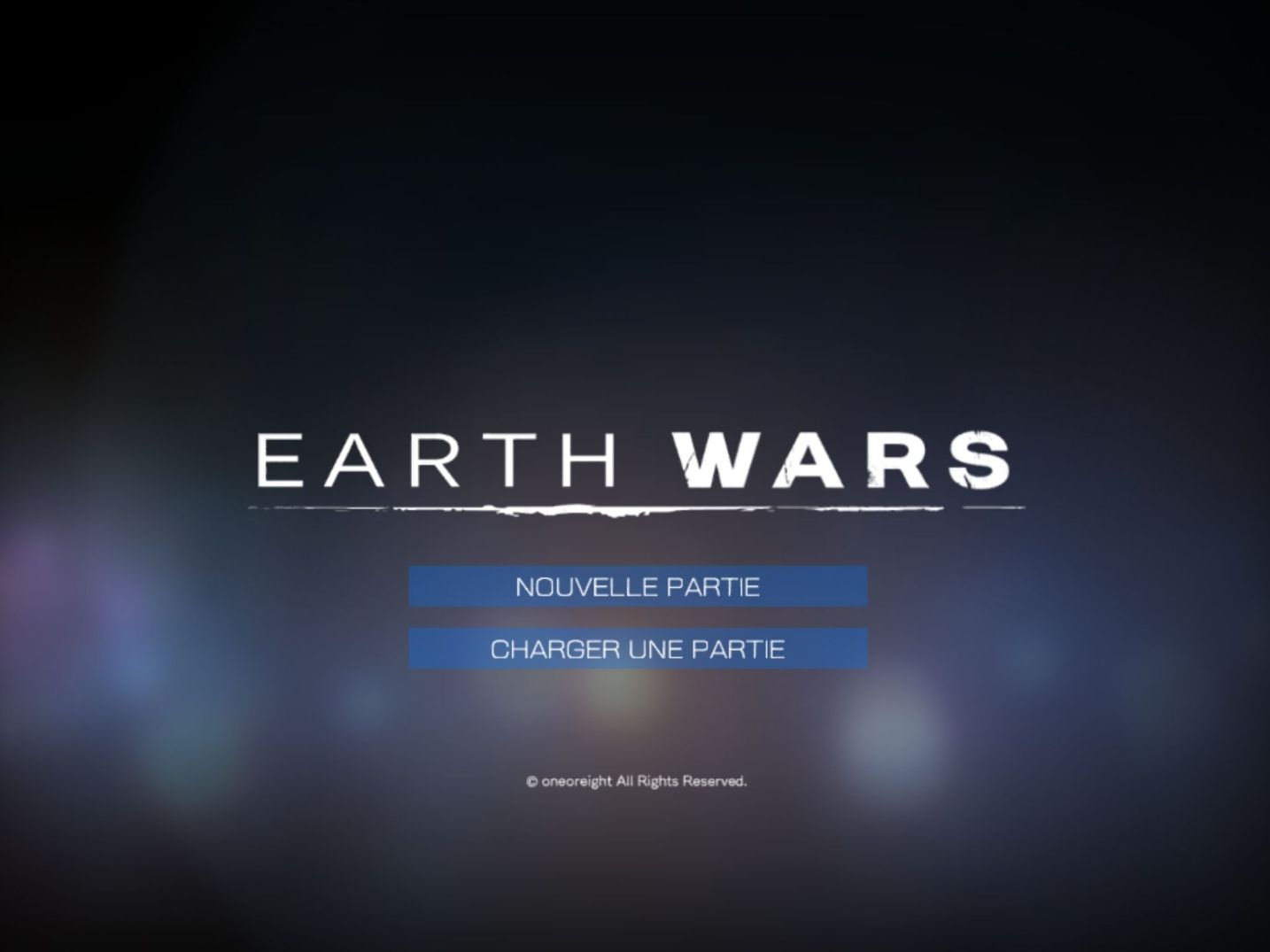 EARTH WARS (copie d'écran 1 sur iPhone / iPad)