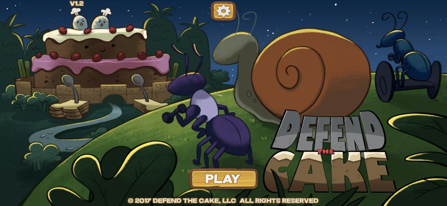 Defend the Cake Tower Defense (copie d'écran 1 sur iPhone / iPad)