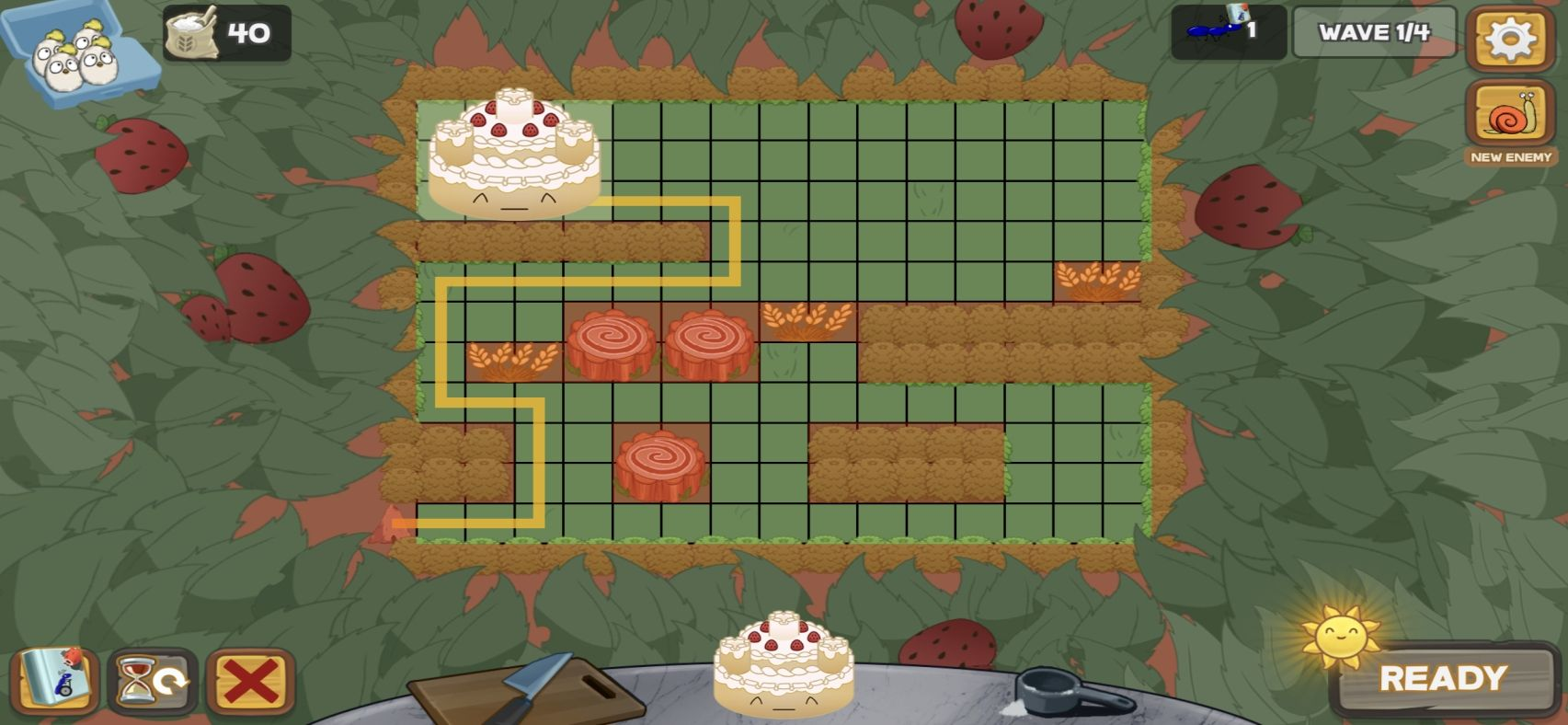 Defend the Cake Tower Defense (copie d'écran 3 sur iPhone / iPad)