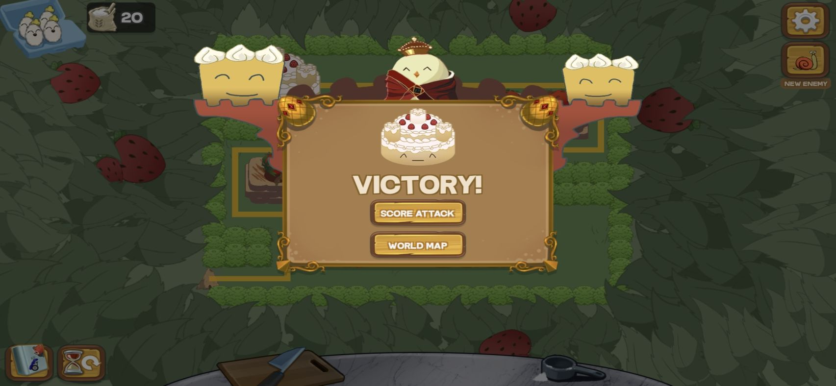 Defend the Cake Tower Defense (copie d'écran 7 sur iPhone / iPad)