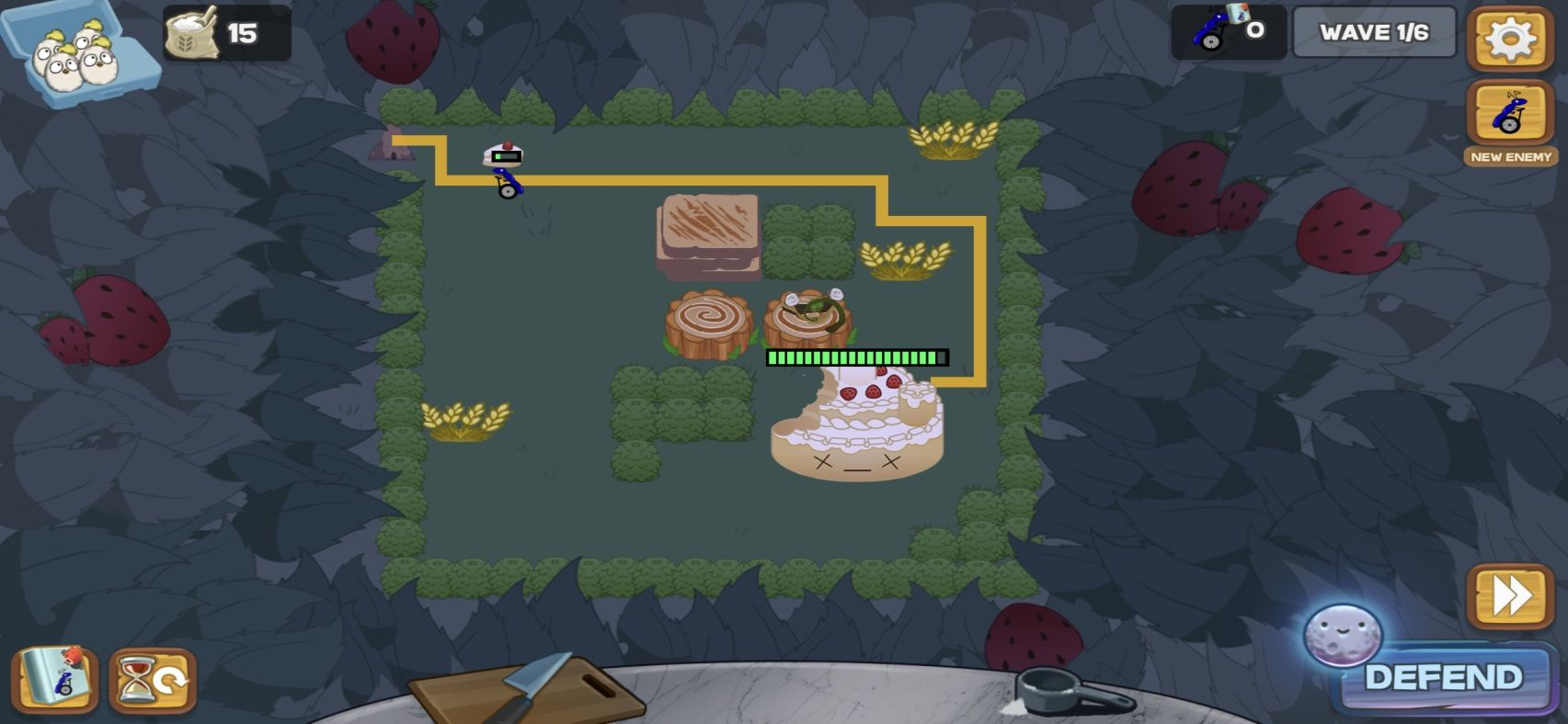 Defend the Cake Tower Defense (copie d'écran 12 sur iPhone / iPad)