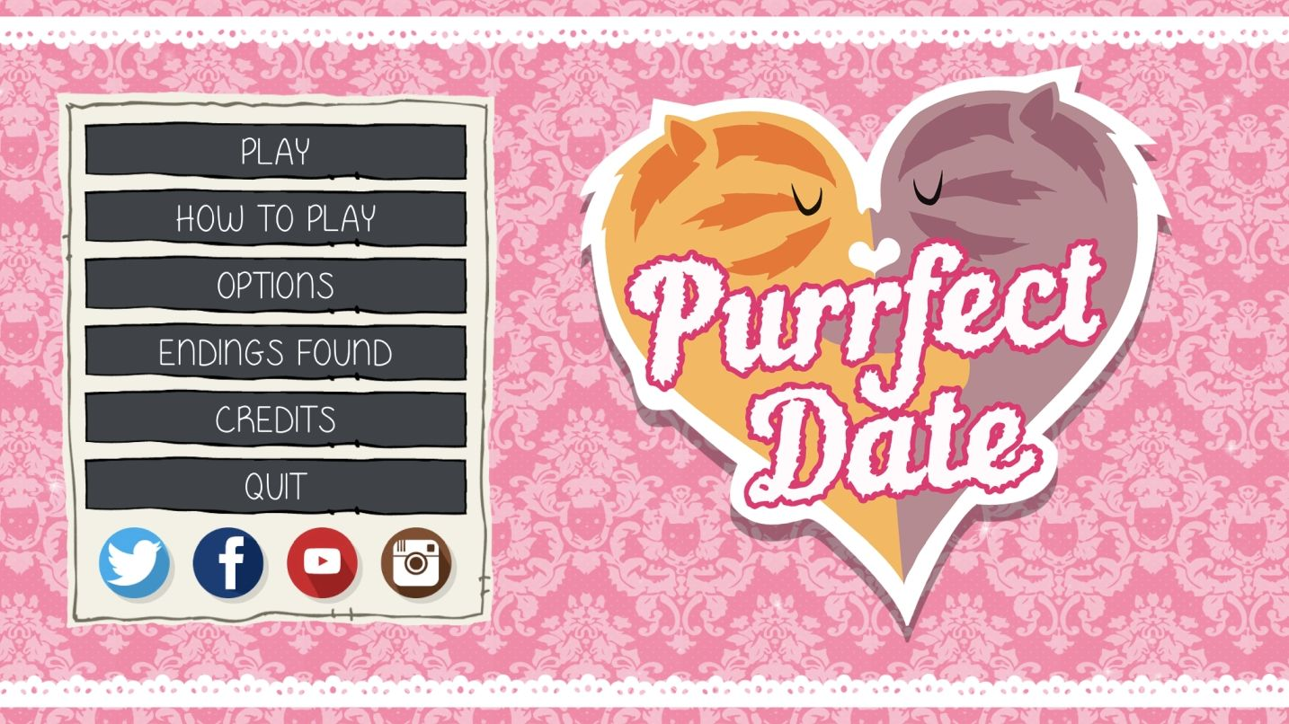 Purrfect Date (copie d'écran 1 sur iPhone / iPad)