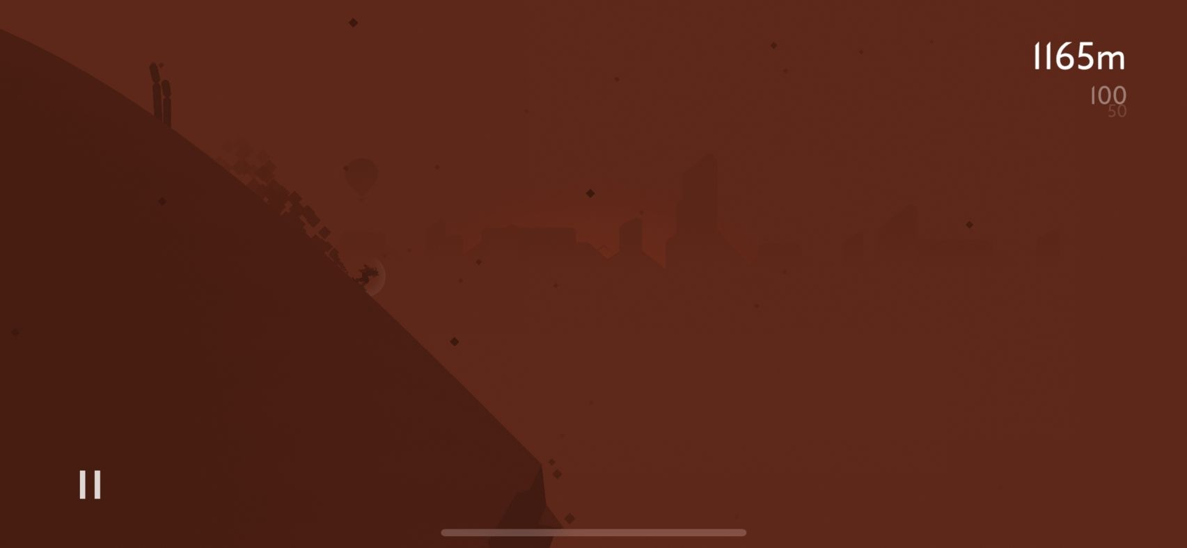 Alto's Odyssey (copie d'écran 6 sur iPhone / iPad / Apple TV)